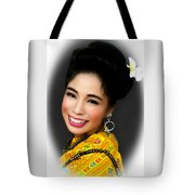 Portrait Of Culture Tote Bag