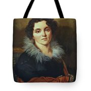 Portrait Of Darya Nikolaevna Chvostova 1814 Tote Bag