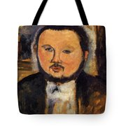 Portrait Of Diego Rivera 1914 Tote Bag