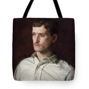 Portrait Of Douglass Morgan Hall Tote Bag