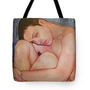 Portrait Of Dustin Roadcap 2016 Tote Bag