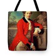 Portrait Of Edmund Rolfe Tote Bag