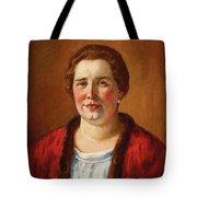 Portrait Of Ekaterina Ivanovna Kogan Tote Bag