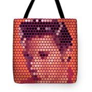 Portrait Of Elvis Presley  Tote Bag