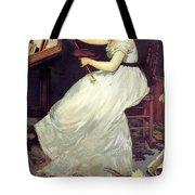 Portrait Of Eva Gonzales 1870 Tote Bag