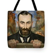 Portrait Of Feliks Jasienski Tote Bag