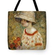 Portrait Of Frances Kilmer Tote Bag