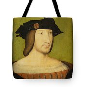 Portrait Of Francis I, King Of France Tote Bag