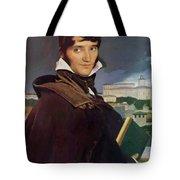 Portrait Of Francois Marius Granet Tote Bag