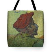 Portrait Of Gauguin Arles December 1888 Vincent Van Gogh 1853  1890 Tote Bag