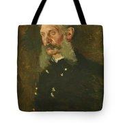 Portrait Of General E Burd Grubb Tote Bag