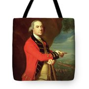 Portrait Of General Thomas Gage Tote Bag