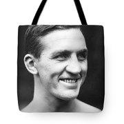 Portrait Of George Carpentier Tote Bag