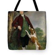 Portrait Of George Venables Vernon Tote Bag by Thomas Gainsborough