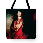 Portrait Of George Washington Tote Bag by Charles Willson Peale