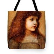 Portrait Of Gertie Lewis Tote Bag