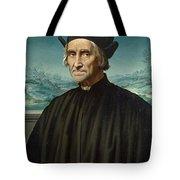 Portrait Of Girolamo Benivieni Tote Bag
