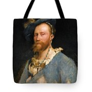Portrait Of Gustave Courtois Tote Bag