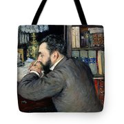 Portrait Of Henri Cordier Tote Bag