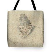 Portrait Of Henry Avercamp Tote Bag
