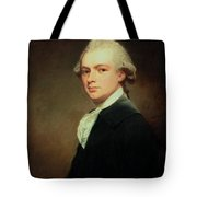 Portrait Of Henry Russell Tote Bag by George Romney