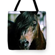 Portrait Of His Majesty - The King Tote Bag