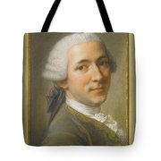 Portrait Of Jean Claude Gaspard Tote Bag