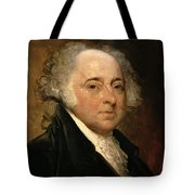 Portrait Of John Adams Tote Bag