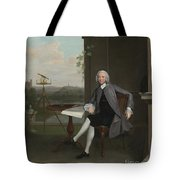 Portrait Of Jonas Hanway Tote Bag