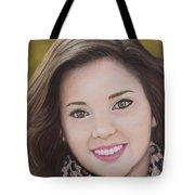 Portrait Of Kaitlyn Tote Bag
