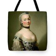 Portrait Of Katarzyny Z Zamoyskich Mniszchowej Tote Bag