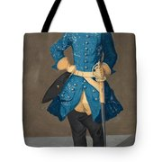 Portrait Of King Karl Xii Of Sweden Tote Bag