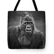 Portrait Of King Kongs Cousin IIi Tote Bag
