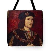 Portrait Of King Richard IIi Tote Bag by English School