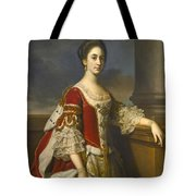 Portrait Of Lady Elizabeth Compton Later Countess Of Burlington Tote Bag
