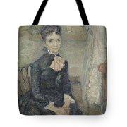 Portrait Of Leonie Rose Charbuy-davy Paris  March  April 1887 Vincent Van Gogh 1853  1890 Tote Bag