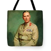 Portrait Of Lieutenant - General The Honorable Sir Edmund Herring Tote Bag