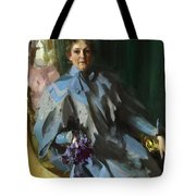 Portrait Of Lilly Eberhard Anheuser Anders Zorn Tote Bag