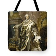 Portrait Of Louis Xv Of France Tote Bag
