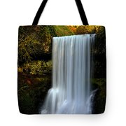 Portrait Of Lower South Falls Tote Bag