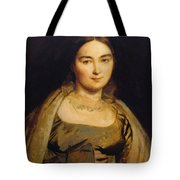 Portrait Of Madame Ingres Tote Bag