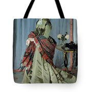 Portrait Of Madame Louis Joachim Gaudibert Tote Bag