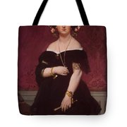 Portrait Of Madame Moitessier Standing Tote Bag