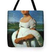 Portrait Of Mademoiselle Riviae 1805 Tote Bag