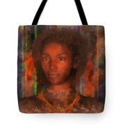 Portrait Of Maillie Tote Bag