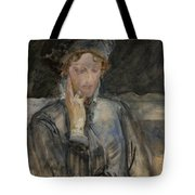 Portrait Of Maria Bal Tote Bag