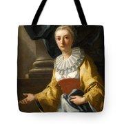 Portrait Of Maria Cavalcanti Ametrano Duchess Of San Donato Tote Bag