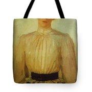 Portrait Of Maria Tolstaya Leo Tolstoy Daughter Tote Bag