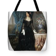 Portrait Of Marie Duplessis Tote Bag