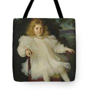 Portrait Of Marjorie Coldwell Westinghouse  Tote Bag